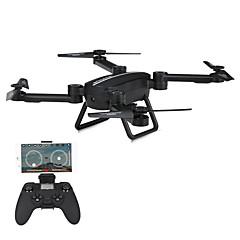 billiga Quadcopter-RC Drönare JIESTAR X8TW 4 Kanaler 6 Axel 2.4G Med 720P HD-kamera Radiostyrd quadcopter FPV LED-belysning Retur Med Enkel Knapptryckning