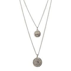 preiswerte Halsketten-Damen Anhängerketten / Statement Ketten  -  Retro Silber Modische Halsketten 2pcs Für Normal, Ausgehen