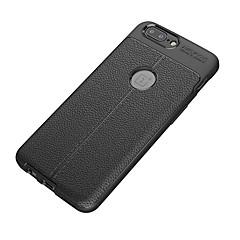 hoesje Voor OnePlus 5 3 Schokbestendig Mat Achterkantje Effen Kleur Zacht TPU voor One Plus 5 One Plus 3 One Plus 3T