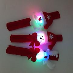 3 kpl / setti joulu valovoima käsi-rengas lelu