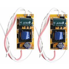 abordables Accesorios LED-SENCART 2pcs Fuente de Poder 3
