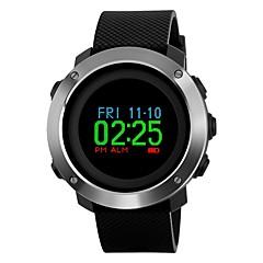 preiswerte Tolle Angebote auf Uhren-SKMEI Herrn Sportuhr / Armbanduhr Japanisch Alarm / Kalender / Chronograph PU Band Luxus / Mehrfarbig Schwarz