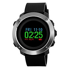 preiswerte Digitaluhren-SKMEI Herrn Sportuhr / Armbanduhr Japanisch Alarm / Kalender / Chronograph PU Band Luxus / Mehrfarbig Schwarz