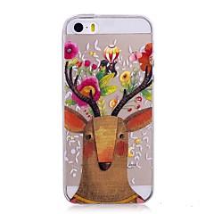 Кейс для Назначение Apple iPhone X iPhone 8 IMD Прозрачный С узором Задняя крышка Животное Мягкий TPU для iPhone X iPhone 8 Plus iPhone 8