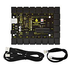 Keyestudio fácil enchufe placa de control principal v1.0 controller1pcs línea telefónica 1 unids usb para arduino