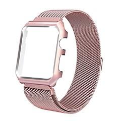 お買い得  腕時計ベルト-ステンレス鋼 時計バンド ストラップ ピンク 25センチメートル/ 9.84インチ 2cm / 0.8 Inch