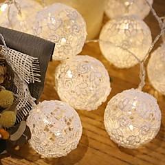 20 led 3m stjerne lys vandtæt plug udendørs jul ferie dekoration lys led string lys