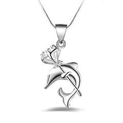 Жен. Ожерелья-бархатки анкер Серебрянное покрытие Животные Мода Бижутерия Назначение Другое Повседневные