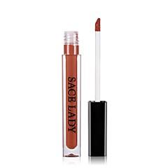 Lipglosses Læbestifter Mat Flydende Farvet glans Fugt Anti-Slid Naturlig Vandtæt 1