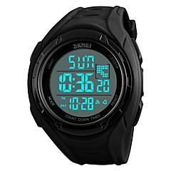 preiswerte Digitaluhren-SKMEI Herrn Sportuhr / Armbanduhr / Digitaluhr Japanisch Alarm / Kalender / Chronograph PU Band Freizeit Schwarz / Blau / Grün