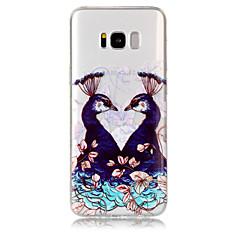 Funda Para Samsung Galaxy S8 Plus S8 Transparente Diseños Cubierta Trasera Animal Suave TPU para S8 S8 Plus S7 edge S7 S6 edge S6