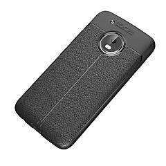 Недорогие Чехлы и кейсы для Motorola-Кейс для Назначение Motorola G5 Plus G5 Защита от удара Матовое Кейс на заднюю панель Сплошной цвет Мягкий ТПУ для Moto Z2 play Мото G5