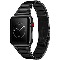 abordables Correas para Apple Watch-Ver Banda para Apple Watch Series 3 / 2 / 1 Apple Hebilla de la mariposa Acero Inoxidable Correa de Muñeca