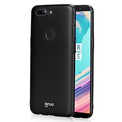 お買い得  その他のケース-ケース 用途 OnePlus OnePlus 5T 5 超薄型 つや消し バックカバー 純色 ハード PC のために One Plus 5 OnePlus 5T