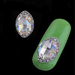 voordelige Kristalstrass-2 stks luxe set vijzel legering juweel nail art decoratie