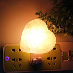 youoklightwarm valkoinen luonnollinen himalayan maapallo pallo suola lamppu yövalo koristelu ilma puhdistaa meitä pistoke