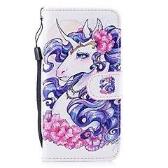 Case For Apple iPhone X iPhone 8 Card Holder Wallet with Stand Full Body Unicorn Hard PU Leather for iPhone X iPhone 8 Plus iPhone 8