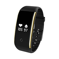 voordelige Smartwatches-Slimme armband Verbrande calorieën Stappentellers Logboek Oefeningen Bloeddrukmeting APP Control Pulse Tracker Stappenteller