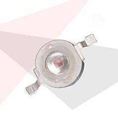 3W 110lm LEDs Recessed LED Grow Lights Red