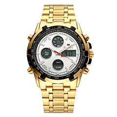 Hombre Niños Reloj de Pulsera Reloj Casual Reloj de Moda Japonés Cuarzo Calendario Cronógrafo Luminoso Reloj Casual Acero Inoxidable Banda