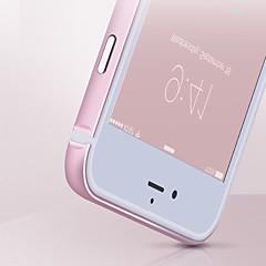 billige iPhone 5-etuier-For iPhone 5 etui Stødsikker Etui Stødfanger Etui Helfarve Hårdt Metal for iPhone SE/5s/5