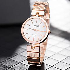preiswerte Damenuhren-Damen Armbanduhr Chinesisch Armbanduhren für den Alltag Edelstahl Band Freizeit / Modisch / Elegant Silber / Gold / Rotgold