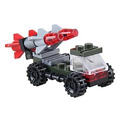 tanie -Klocki 28pcs Stres i niepokój Relief Interakcja rodziców i dzieci Zabawki dekompresyjne Kreskówka Pojazdy Wojskowy Pojazd wojskowy Dla
