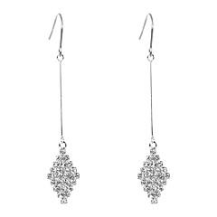 preiswerte Ohrringe-Damen Geometrisch Tropfen-Ohrringe - Einfach, Modisch, Elegant Silber Für Party