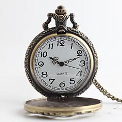 お買い得  大特価腕時計-男性用 懐中時計 日本産 クォーツ 30 m カジュアルウォッチ 合金 バンド ハンズ ぜいたく ヴィンテージ ブロンズ 1年間 電池寿命