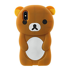 billige Etuier til iPhone 5S/SE-Etui Til Apple iPhone X iPhone 8 Plus Mønster Bagcover Tegneserie Blødt Silikone for iPhone X iPhone 8 Plus iPhone 8 iPhone 7 Plus iPhone