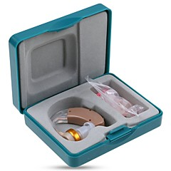 abordables Cuidado Médico y Personal-jjecpp f- 136 bte volumen amplificador de mejora de sonido ajustable audífono de radio
