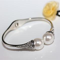voordelige Damessieraden-Dames Cuff armbanden - Eenvoudig, Europees, Modieus Armbanden Goud / Zilver Voor Bruiloft / Feest