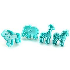 olcso Sütőeszközök és kütyük-Rosták & Shakers Elefánt Cookie Műanyagok Sütés eszköz