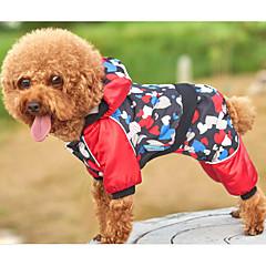 Σκύλος Φόρμες Ρούχα για σκύλους Καθημερινά Καρδιές Μαύρο Στολές Για κατοικίδια