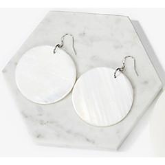 Women's Drop Earrings , Fashion Oversized Silver Circle Jewelry Gift Daily