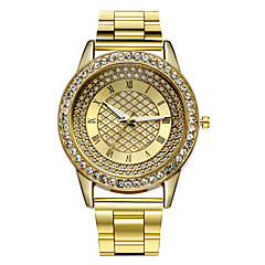 お買い得  レディース腕時計-yoonheel 女性用 リストウォッチ カジュアルウォッチ 金属 バンド チャーム / ファッション シルバー / ゴールド / 1年間 / SODA AG4
