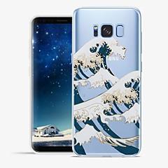 Χαμηλού Κόστους Galaxy S6 Θήκες / Καλύμματα-tok Για Samsung Galaxy S8 Plus S8 Με σχέδια Πίσω Κάλυμμα Γραμμές / Κύματα Τοπίο Μαλακή TPU για S8 Plus S8 S7 edge S7 S6 edge plus S6 edge
