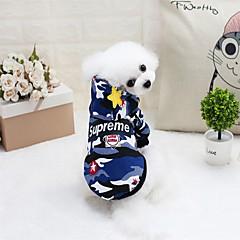 Kot Pies Płaszcze Bluzy z kapturem Kombinezon Suknie Ubrania dla psów Elegancki Codzienne Wodoszczelność Zatrzymujący ciepło Modny Wysoka