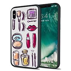 Недорогие Кейсы для iPhone X-Кейс для Назначение Apple iPhone X iPhone 8 Plus С узором Задняя крышка Сияние и блеск Мягкий TPU для iPhone X iPhone 8 Pluss iPhone 8