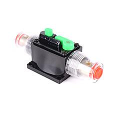 Недорогие Аудио для автомобиля-10/15/20/30/50 / 60a amp встроенный автоматический выключатель стерео / аудио / автомобиль / rv предохранитель 12v / 24v / 32v