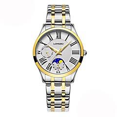 tanie Eleganckie zegarki-Damskie DZIECIĘCE Na codzień Modny Zegarek na nadgarstek Japoński Kwarcowy Kalendarz Chronograf Wodoszczelny Na codzień Faza Księżyca