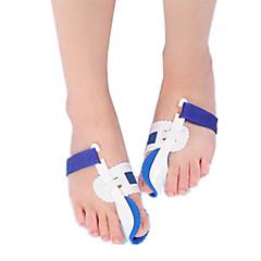 abordables Cuidado de la Salud-Cuerpo Completo Pie Soporta Dedo del pie y Separadores de juanete Pad Corrector de Postura Aliviar el dolor en el pie El plastico