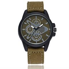 Men's Sport Watch Fashion Watch Wrist watch Chinese Quartz Casual Watch Fabric Band Casual Black White Blue Red Green