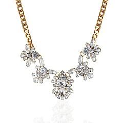 preiswerte Halsketten-Damen Synthetischer Diamant Anhängerketten - Diamantimitate Klassisch, Modisch, Elegant Gold Modische Halsketten Für Verlobung, Zeremonie