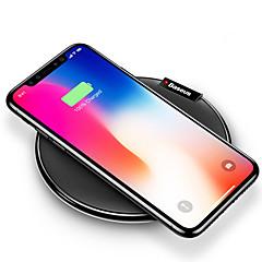 お買い得  Samsung用ガジェット-ワイヤレスチャージャー 電話USB充電器 USB ワイヤレスチャージャー Qi USBポート×1 1A iPhone X iPhone 8 Plus iPhone 8 S8 Plus S8 S7 Active S7 edge S7 S6 edge plus S6 edge