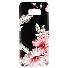 Χαμηλού Κόστους Galaxy S6 Edge Θήκες / Καλύμματα-tok Για Samsung Galaxy S8 S7 Στρας Με σχέδια Ανάγλυφη Πίσω Κάλυμμα Λουλούδι Φτερά Σκληρή PC για S8 Plus S8 S7 edge S7 S6 edge plus S6