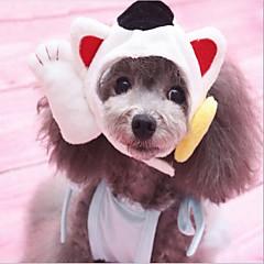 abordables Ropa para Gato-Gato / Perro Bandanas y Sombreros Ropa para Perro Retazos Tejido de Algodón Disfraz Para mascotas Animales / Año Nuevo
