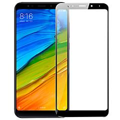 Недорогие Защитные плёнки для экранов Xiaomi-Защитная плёнка для экрана XIAOMI для Xiaomi Redmi 5 Plus Закаленное стекло 1 ед. Защитная пленка на всё устройство Защита от царапин