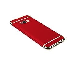 olcso Galaxy S6 tokok-Case Kompatibilitás Samsung S8 Plus S8 Ultra-vékeny Origami Fekete tok Tömör szín Kemény mert S8 Plus S8 S7 edge S7 S6 edge plus S6 edge
