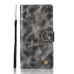 Недорогие Чехлы и кейсы для Sony-Кейс для Назначение Sony Xperia XA Ультра Sony Sony Xperia X Performance Sony Xperia XA Xperia XZ1 Xperia XA1 Бумажник для карт Кошелек